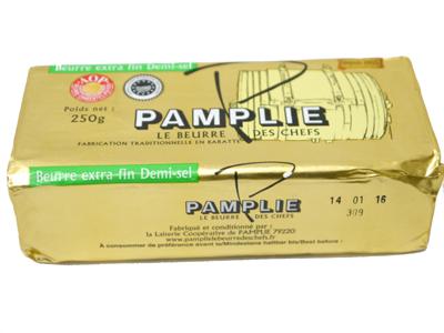 自然豊かなパムプリー村で良質なミルクの旨みをそのまま活かして作られたバター パムプリー 有塩バター AOP いよいよ人気ブランド 40%OFFの激安セール ポワトゥーシャラン産 フランス 250g