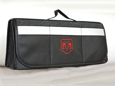 ダッジDODGEのトランク内収納ケース,エンブレムバック,ピクニックバッグ