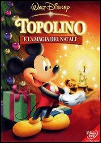 ミッキーマウスMikey,とクリスマスの魔法,ディズニーアニメと映画DVDでイタリア語の学習