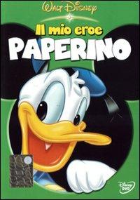 私のヒーローのドナルドダックディズニーアニメと映画DVDでイタリア語の学習
