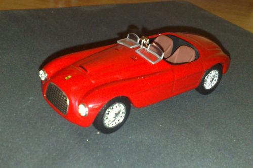 フェラーリFerrari 166 MM のミニカー1/43イタリア国内販売用