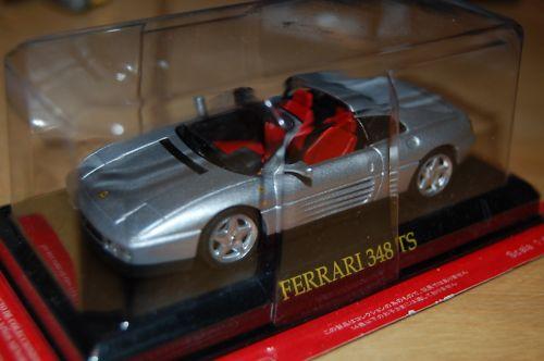フェラーリFerrari 348 TS のミニカー1/43イタリア国内販売用