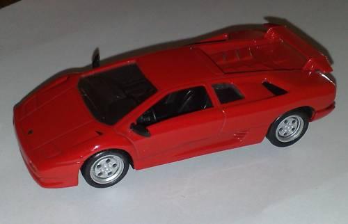 ランボルギーニ ディアプロLAMBORGHINI DIABLOのミニカー1/43イタリア国内販売用