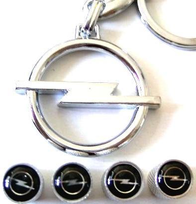 オペルOPELのキーホルダーとエアーキャップのセットイタリア国内販売用