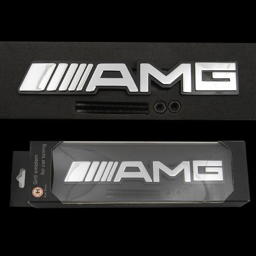 メルセデスベンツMercedes Benz AMG Badgeのエンブレム,ステッカー(ハードタイプ)