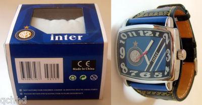 サッカー 時計,INTER MILAN FC インテル ミランの腕時計はイタリアのお土産です。