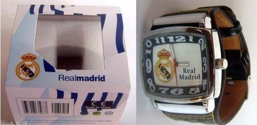サッカー 時計,レアルマドリードREAL MADRID FC SOCCER の腕時計はイタリアのお土産です。