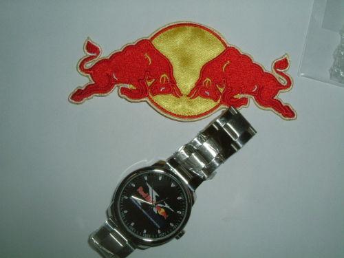 レッドブルF1-RedBullの腕時計はイタリアのお土産です。