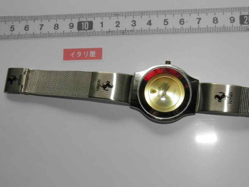 FERRARIフェラーリの腕時計はイタリアから