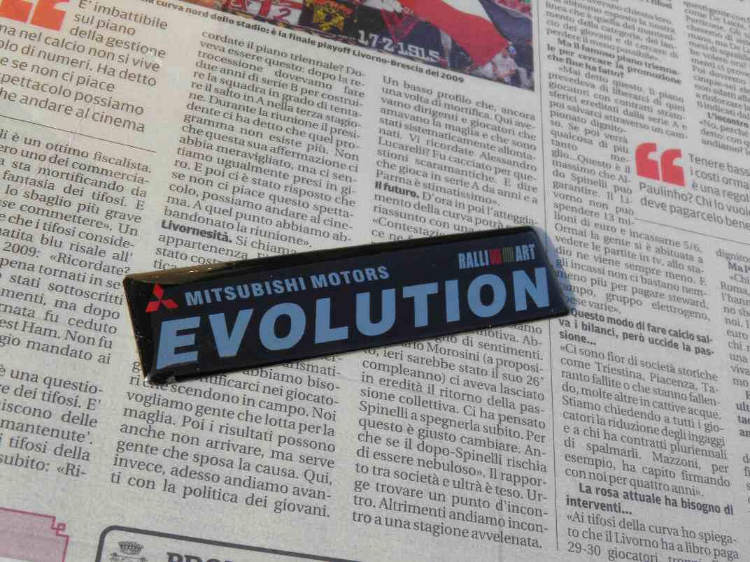 ミツビシMITSUBISHI-EVOLUTION三菱のエンブレム,カーステッカー