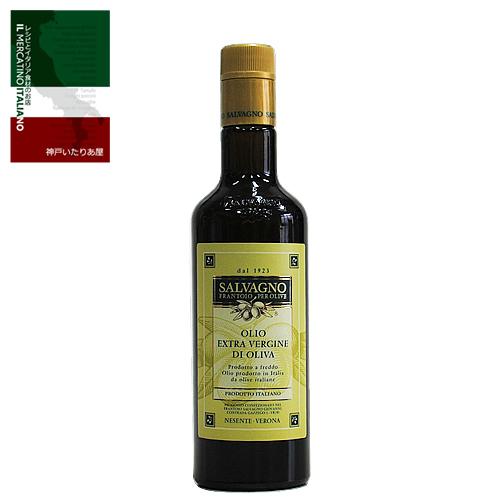 イタリア ヴェネト 当店1番人気 香り高くまろやかな味わいで和食にもよくあいます※在庫があれば可能な限り即日発送させていただきます 新作入荷!! エクストラヴァージンオリーブオイル 500ml d'oliva Olio サルバーニョ 0.5L Salvagno extravergine 評価