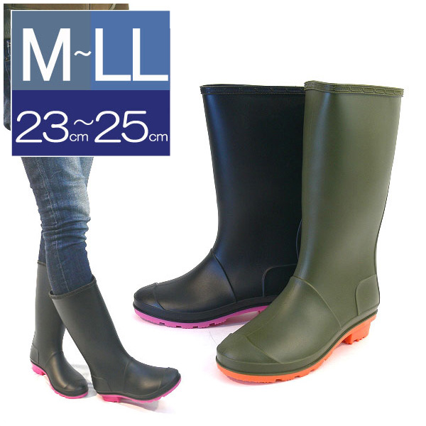 italico | Rakuten Global Market: LaBarre in boots long rain boots ...