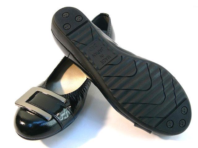 日本制造的第一次接触妹妹品牌拱接触拱联系美腿楔搪瓷泵皮带设计舒适休闲鞋办公室上班方便舒适记忆泡沫冲击吸收 FIRSTCONTACT 姐妹品牌 (6 种颜色)