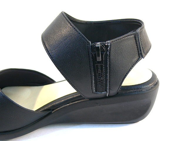 Japan-made FIRST CONTACT first contact GOME fit Sandals legs thick bottom  casual wedge sandal lowedgesole 5 cm heel pumps comfort shoes Office  commute