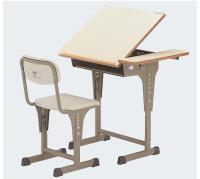 【送料別途】美術机・椅子セット A7200Wセット