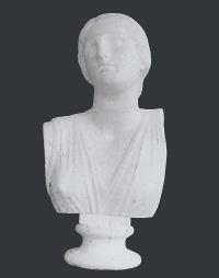 【メーカー直送】石膏像[岡石膏] ニオベ胸像