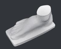 【メーカー直送】石膏像[岡石膏] 男の足