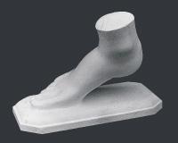 【メーカー直送】石膏像[岡石膏] 女の足