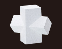 【メーカー直送】幾何形立体模型[岡石膏] 12組セット