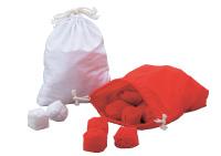 玉入れ球 赤白袋付100球 各50球