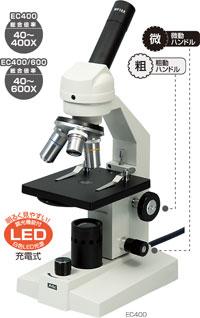 【夏休み 自由研究に!】生物顕微鏡 EC400 木箱付(子供/小学生/中学生/研究/課題/宿題/理科/実験/通販)