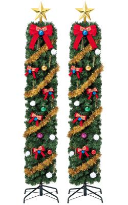 スノーフォールエントランスポールセット(クリスマス/クリスマス用品/クリスマスツリー/ツリー/パーティー/飾り/オーナメント/セット)