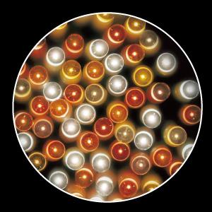 防滴400球LEDスターリーライト/ゴールドグラデーション(クリスマス/クリスマス用品/クリスマスツリー/ツリー/パーティー/飾り/オーナメント/ライト/電飾/電球)