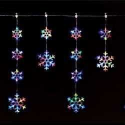 LEDレインボースノー6連つららライト (クリスマス/クリスマス用品/クリスマスツリー/ツリー/パーティー/飾り/オーナメント/サンタ/)