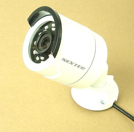 赤外線投光器内臓/高解像度/屋外用カラーカメラ NX-H523S  (送料・代引手数料無料)