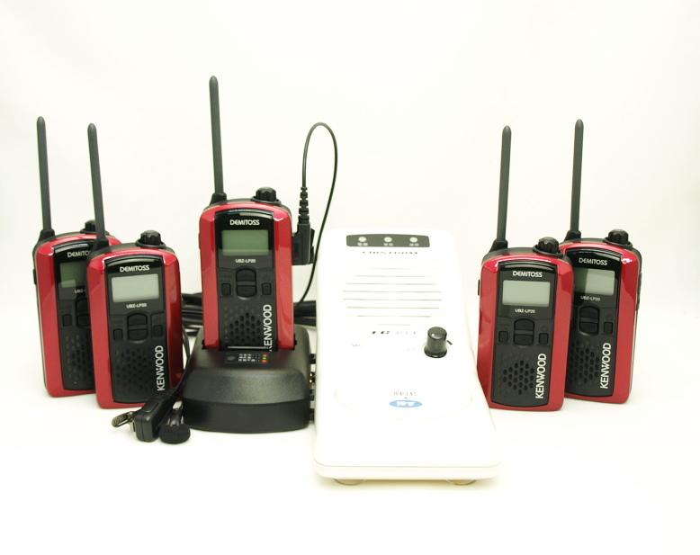 充電が早い 業務連絡の効率をアップするインカム用ベースステーション 人気 注目ブランド インカム ケンウッド UBZ-LP20新4点セット 5組セット 送料 代引手数料無料 とベースステーション用スタンドマイクスピーカーのお得なセット 急速充電器採用 レッド