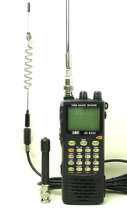 広帯域受信機(マルチバンドレシーバー・ワイドバンドレシーバー)/AOR/ AR8200MK3/  (送料・代引手数料無料)