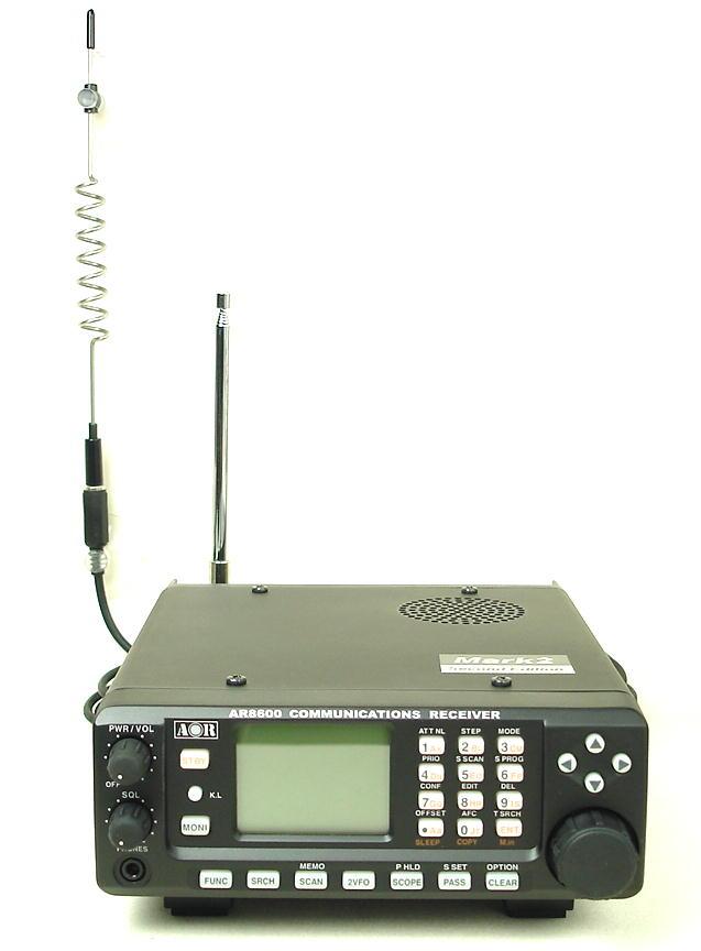広帯域受信機(マルチバンドレシーバー・ワイドバンドレシーバー)固定機 /AOR /AR8600MK2  (送料・代引手数料無料)