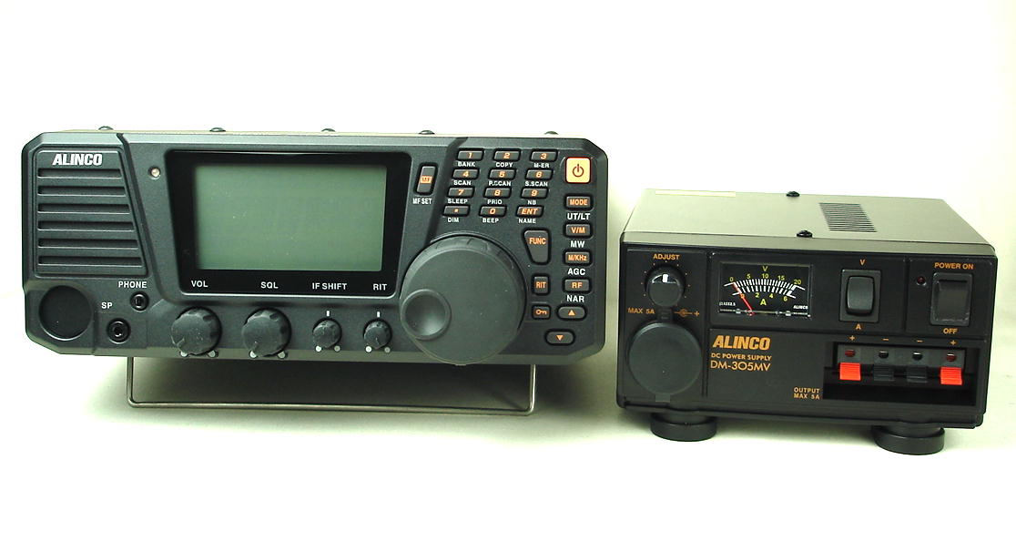 オールモードデスクトップレシーバー/アルインコ/ALINCO/ DX-R8 と安定化電源のお得なセット  (送料・代引手数料無料)