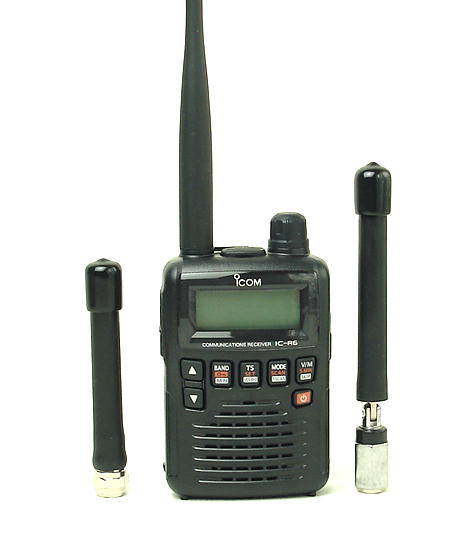 お得!広帯域受信機(マルチバンドレシーバー・ワイドバンドレシーバー)/アイコム/IC-R6とエアバンド専用アンテナのお得なセット  (送料・代引手数料無料)