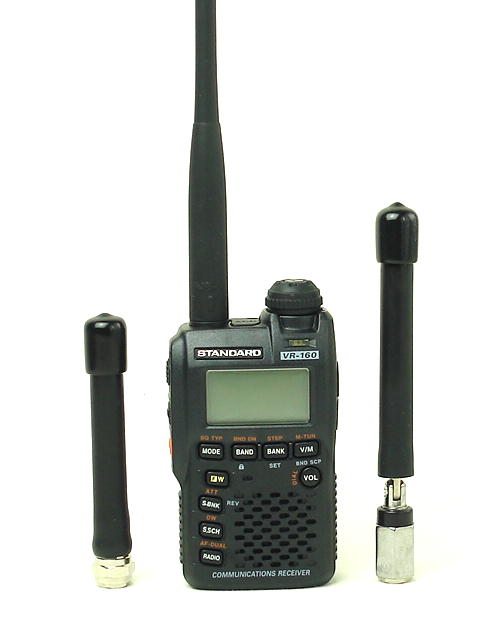 広帯域受信機(マルチバンドレシーバー・ワイドバンドレシーバー)/スタンダード/VR-160とエアバンド専用アンテナのお得な!セット  (送料・代引手数料無料)