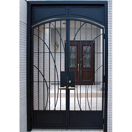 ロートアイアン両開き門扉プレミアムGP204 ITC オリジナル製品