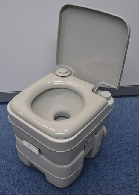 介護用やキャンプやレジャー 高級 非常用など どこでも水洗トイレ 安全 VS-8649 10L