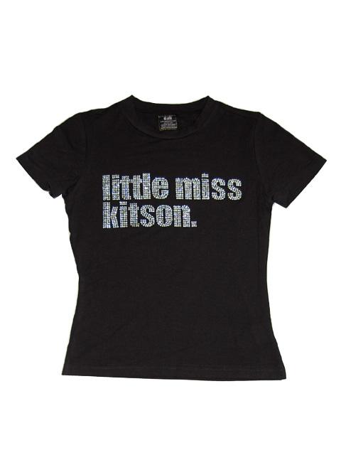 ☆SALE☆ ◆送料無料◆【Kitson キットソン LA】ラインストーンロゴTシャツ