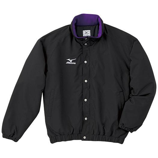 MIZUNO 【25%OFF】ミズノ 中綿ウォーマーキルトシャツ(フード収納式) ブラック