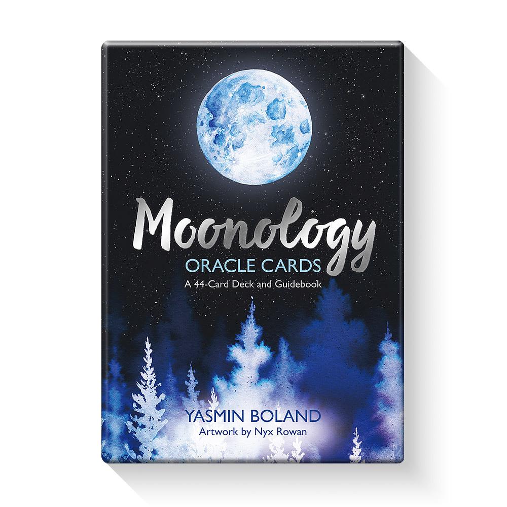 月のパワーで人生をスムーズに 購買 オラクルカード ムーンオロジーオラクルカード 綺麗 手数料無料 占い 日本語解説書付き