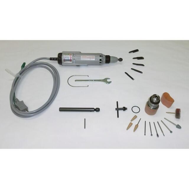 東京オートマック 電動木彫機 ハンドクラフト デラックスタイプ(振動・回転両用タイプ) HCT-30S型<AUTOMACH>