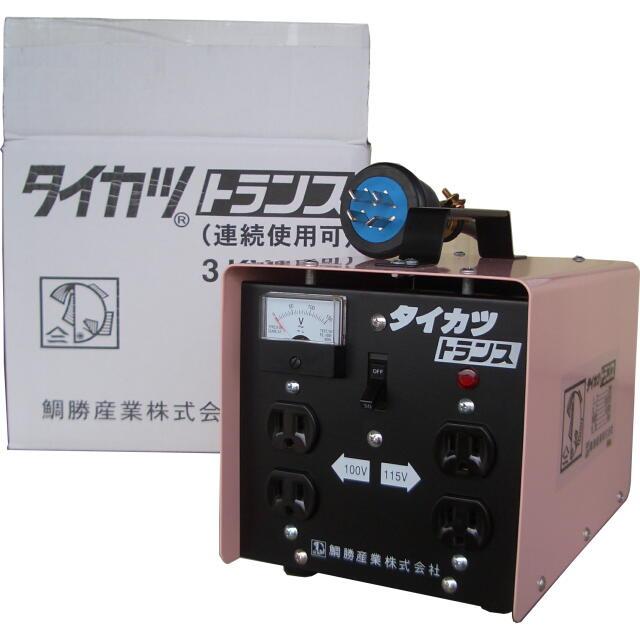 タイカツ トランス(変圧器) 3KVA :M-3型 <タイカツ産業>