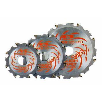 タフハード 超硬質窯業用オールダイヤチップソー 125×8P DTY-125:No.3063<三陽金属>