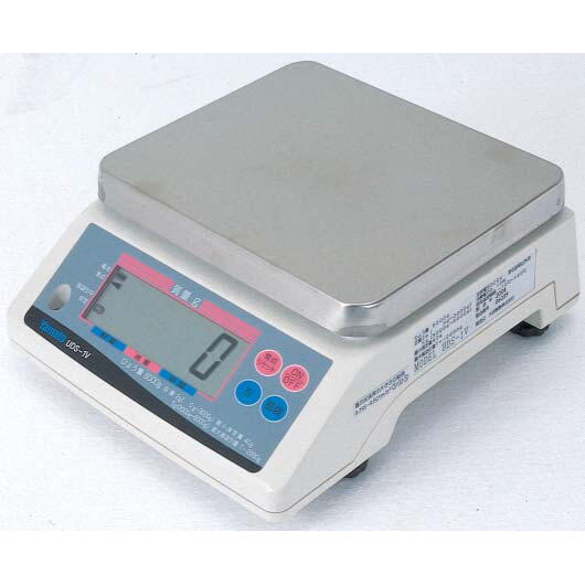 ヤマト デジタル上皿はかり 検定品+ステンレス製載皿セット:UDS-1V-<Yamato・大和製衡>