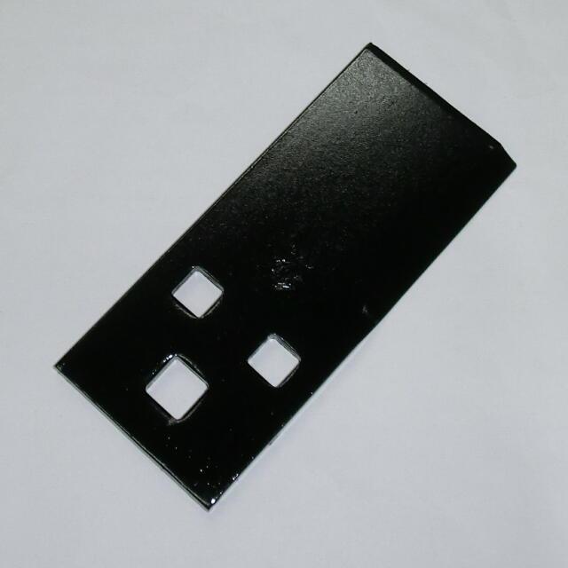 ツムラ角鳩印 自走式草刈機用フリー刃 142mm 10枚組 :TRM82×10<津村鋼業>