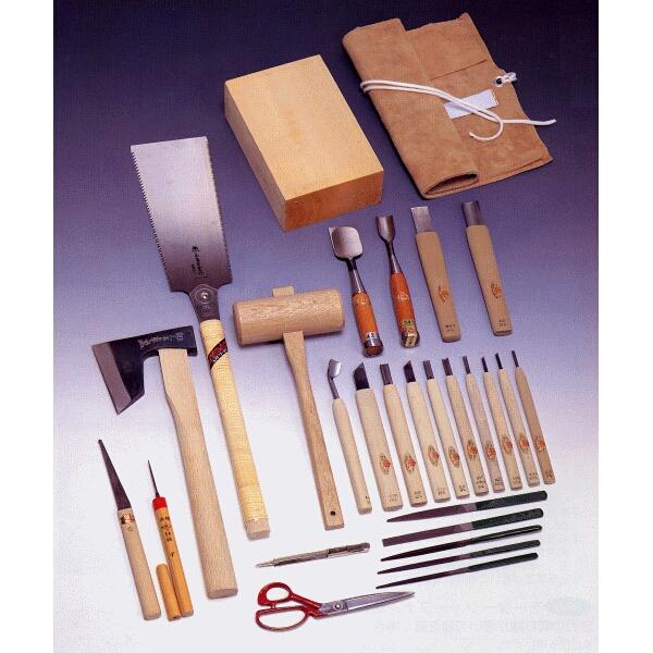 三木章刃物本舗 面打ち用 彫刻刀 用材セット 140531