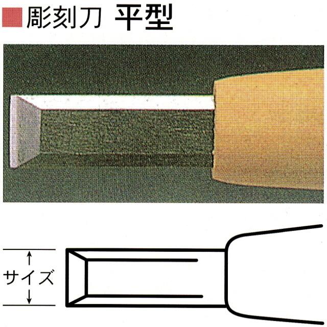 与え 三木章刃物本舗 安来鋼彫刻刀単品 ご注文で当日配送 平型 15mm 13.5mm