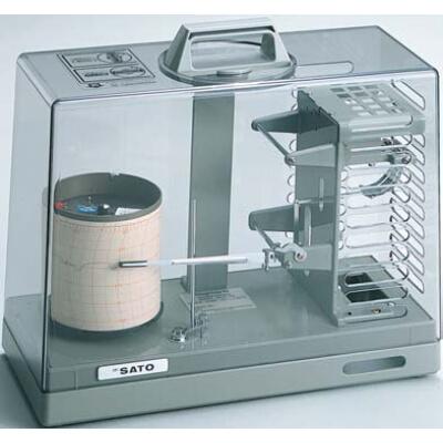クォーツ式 シグマ2型温度記録計:No.7230-00<佐藤計量器>