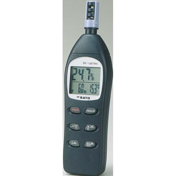 デジタル温湿度計:SK-120TRH:No.8130-00<佐藤計量器>