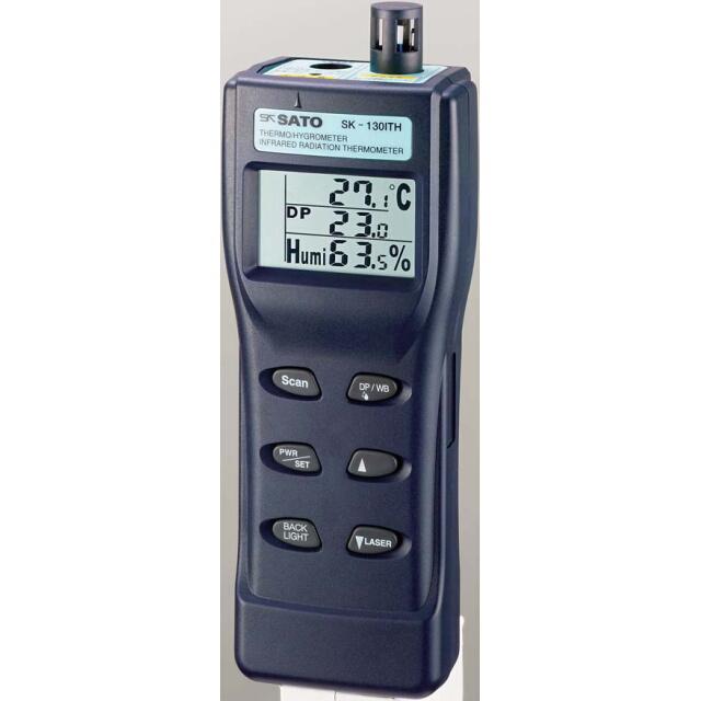 結露チェッカー(放射温度計付)SK-130ITH:No.8132-00<佐藤計量器>